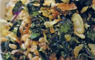 Kale Coconut And White Bean Tostadas Recipe — Dishmaps
