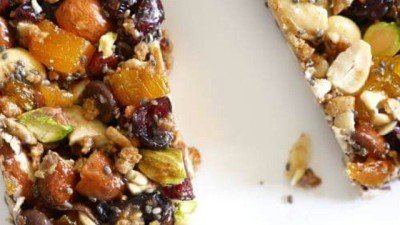 Crave Worthy Crunchy Nut and Fruit Bars