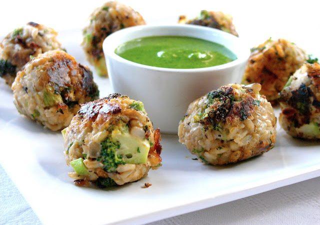 Broccoli Arancini Balls