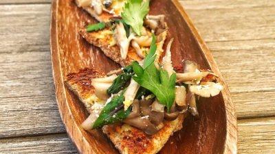 Gluten Free Mushroom Toast