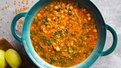 Hearty Purslane Soup
