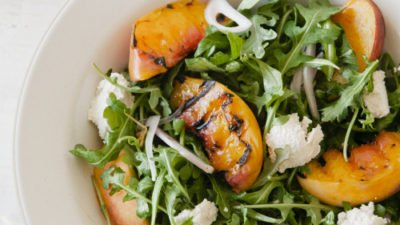 Grilled Peach Salad by Sweet Laurel Bakery