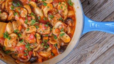 Roasted Mushroom Ragout