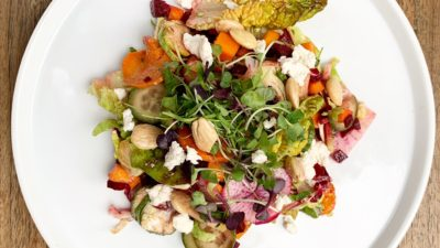 Winter Harvest Salad with Lemonette Dressing