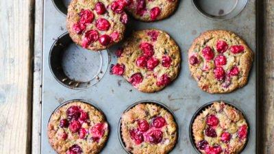 Gluten-Free Cranberry Ginger Muffins